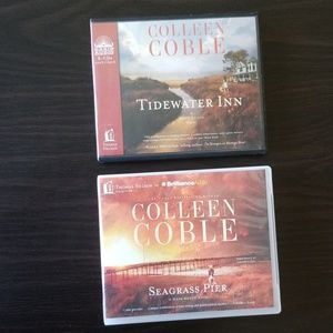2 fiction novels on cd